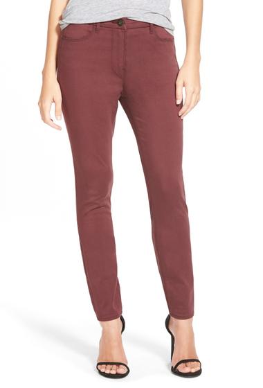 Imbracaminte Femei 3x1 NYC Channel Seam Skinny Jeans RUM RAISIN