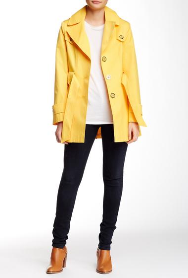 Imbracaminte Femei Via Spiga Hooded Scarpa Jacket Petite CITRUS
