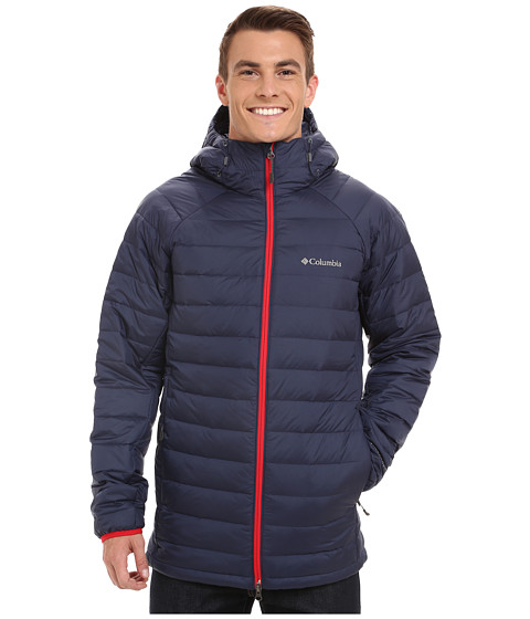 Imbracaminte Barbati Columbia Platinum Plus 860 TurboDowntrade Hooded Jacket NoctornalBright Red