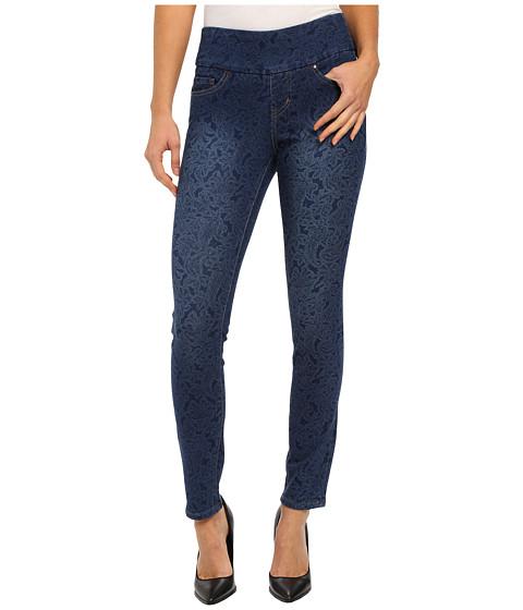 Imbracaminte Femei Jag Jeans Lanna Pull-On Slim Patterned Denim in Paisley Indigo Paisley Indigo