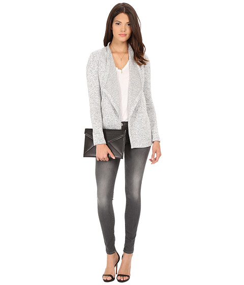 Imbracaminte Femei BB Dakota Baden Marled Polar Fleece Jacket Heathered Oatmeal