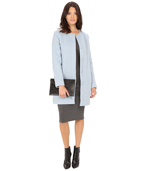 Imbracaminte Femei BB Dakota Vianne Brushed Wool Blend Coat Cyanide