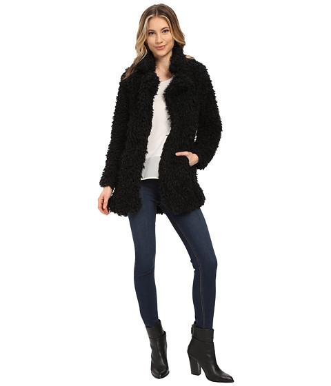 Imbracaminte Femei Brigitte Bailey Alyssa Faux Fur Jacket Black