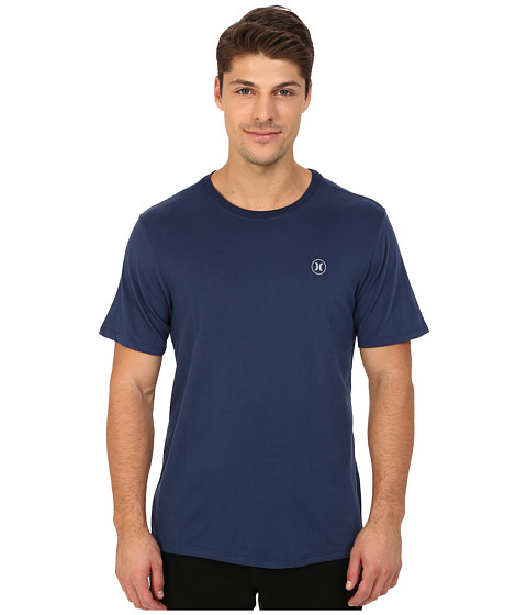 Imbracaminte Barbati Hurley Staple Dri-Fit Tee Midnight Navy