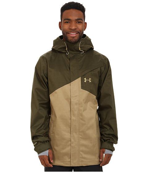 Imbracaminte Barbati Under Armour UA CGI Hillcrest Shell Greenhead