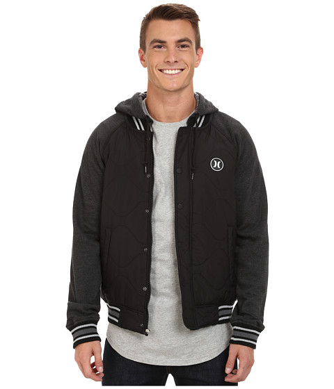 Imbracaminte Barbati Hurley All City Force Jacket Black