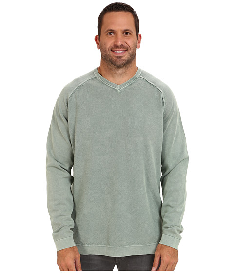 Imbracaminte Barbati Tommy Bahama Big amp Tall Pebble Bay V-Neck Sweater Basalt