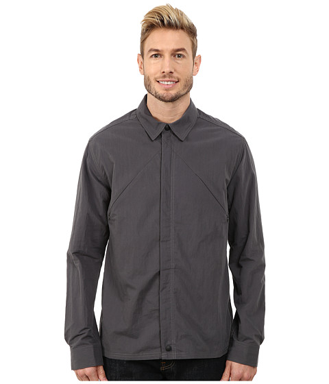 Imbracaminte Barbati ToadCo Enroute Shirt Jacket Soot