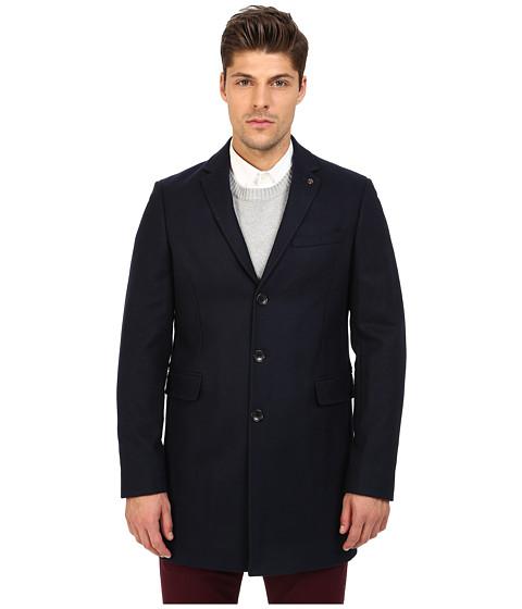 Imbracaminte Barbati Ben Sherman Covert Coat MF11786 Navy Blazer