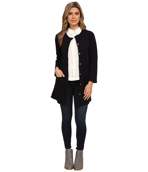 Imbracaminte Femei Michael Stars Quilt Long Sleeve Jacket w Pockets Nocturnal