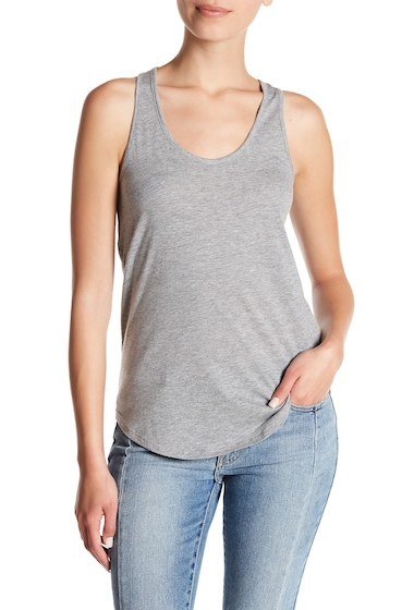 Imbracaminte Femei Alternative Apparel Shirttail Tank HEATHER GREY