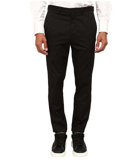 Imbracaminte Barbati McQ Flat Front Chino Darkest Black