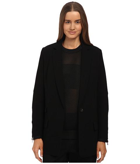 Imbracaminte Femei McQ Classic Blazer Black Crepe