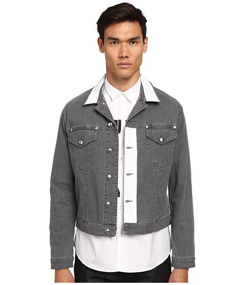 Imbracaminte Barbati McQ Thurston Denim Jacket True Grey