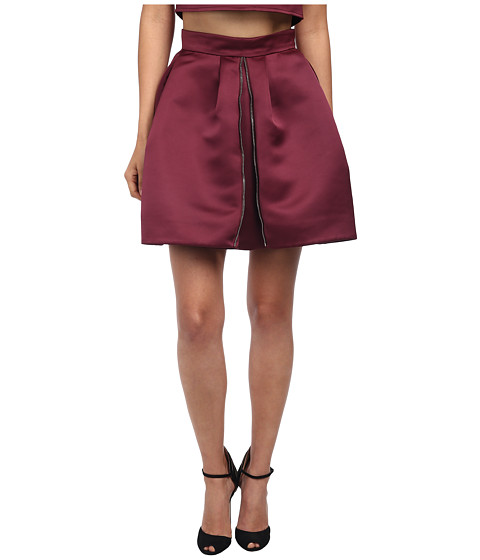 Imbracaminte Femei McQ Zip Part Skirt Blood Red