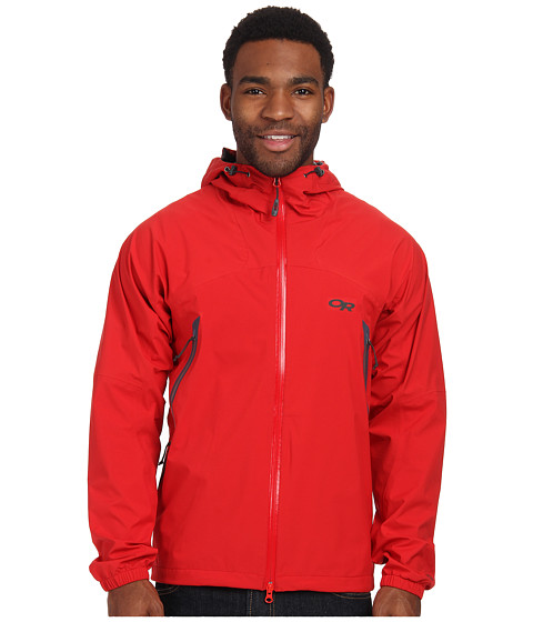 Imbracaminte Barbati Outdoor Research Allout Hooded Jacket Hot Sauce