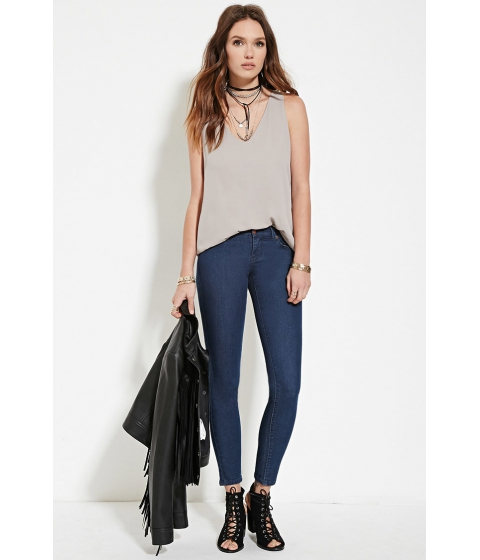 Imbracaminte Femei Forever21 Low-Rise Skinny Jeans Denim
