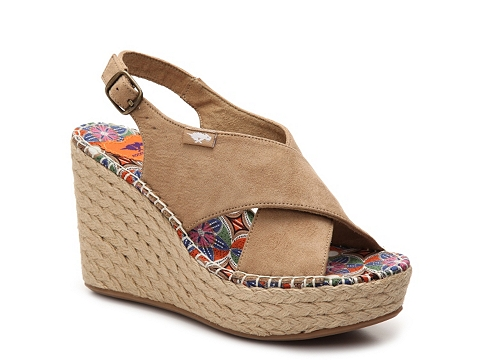 Incaltaminte Femei Rocket Dog Rue Wedge Sandal Tan