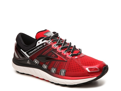 Incaltaminte Barbati Brooks Transcend 2 Performance Running Shoe - Mens RedBlack