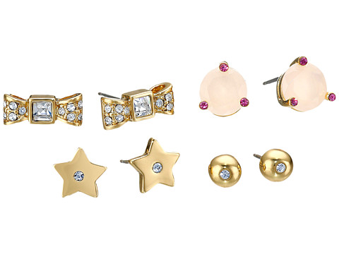 Bijuterii Femei Kate Spade New York Four-Piece Studs Set PinkMulti