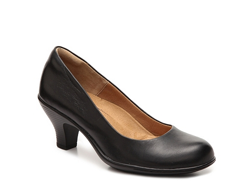 Incaltaminte Femei Softspots Salude Leather Pump Black