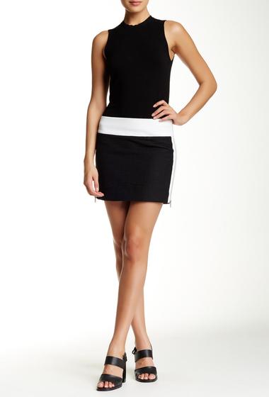 Imbracaminte Femei Helmut Lang Rafter Cotton Mini Skirt BLACK