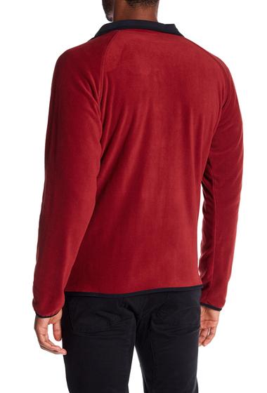 Imbracaminte Barbati Columbia Hat Rock Full Zip Fleece Jacket RED ELEMENT-BLACK