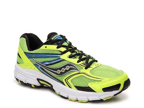 Incaltaminte Barbati Saucony Grid Cohesion 9 Running Shoe - Mens YellowBlackBlue