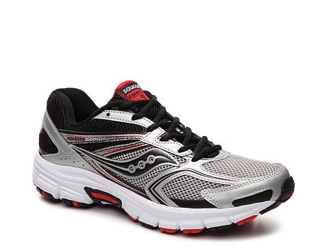 Incaltaminte Barbati Saucony Grid Cohesion 9 Running Shoe - Mens BlackSilverRed
