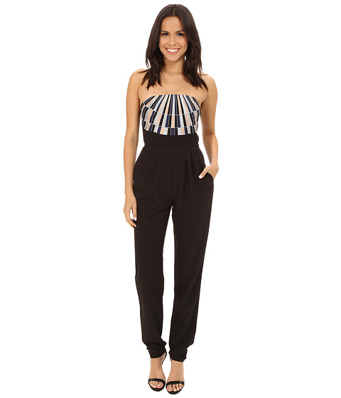 Imbracaminte Femei Mara Hoffman Strapless Embroidered Jumpsuit Black