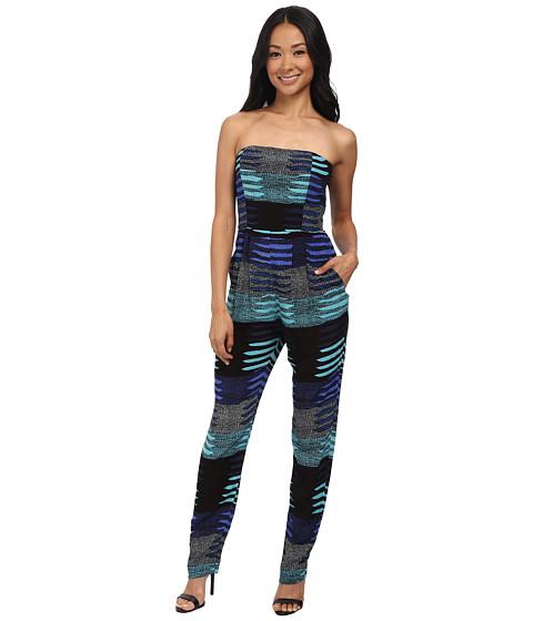 Imbracaminte Femei Mara Hoffman Crepe Strapless Jumpsuit Connector Blue