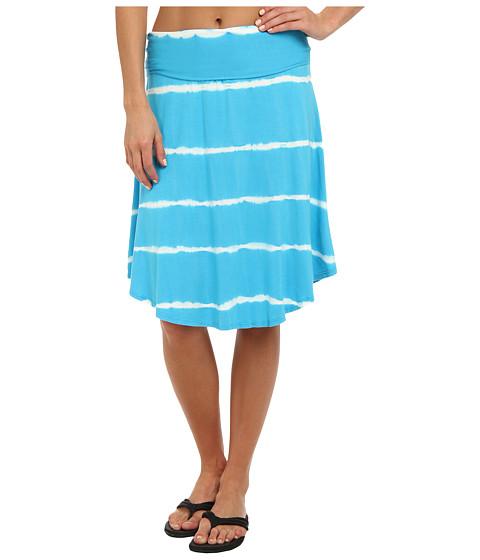Imbracaminte Femei Pink Lotus Curved Hem Roll Waist Skirt Ocean Breeze