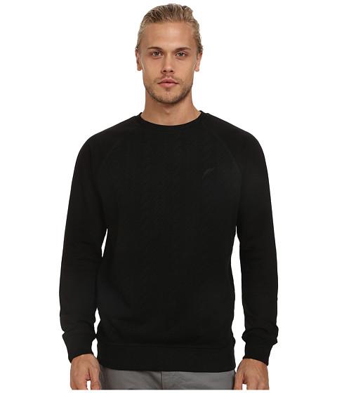 Imbracaminte Barbati Publish Bennet Cable Bonded Fleece Raglan Sweater Black