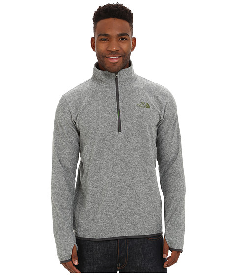 Imbracaminte Barbati The North Face Rockland 14 Zip Pullover Mid Grey Heather