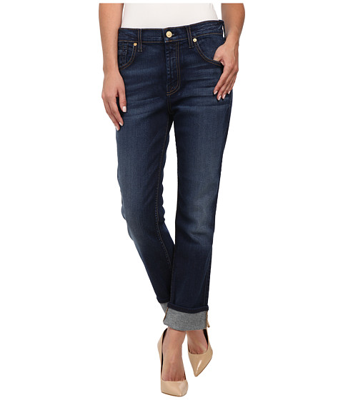 Imbracaminte Femei 7 For All Mankind The Relaxed Skinny in Slim Illusion Rich Vibrant Blue Slim Illusion Rich Vibrant Blue