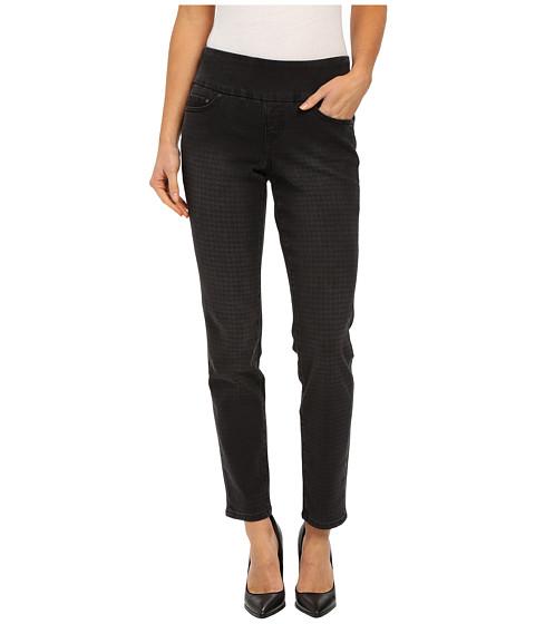 Imbracaminte Femei Jag Jeans Lanna Pull-On Slim Patterned Denim in Houndstooth Black Houndstooth Black