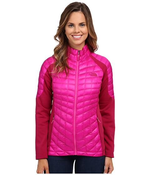 Imbracaminte Femei The North Face Momentum ThermoBalltrade Hybrid Jacket Luminous PinkDramatic Plum