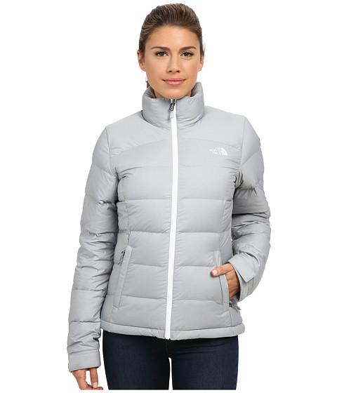 Imbracaminte Femei The North Face Nuptse 2 Jacket High Rise Grey HeatherTNF White
