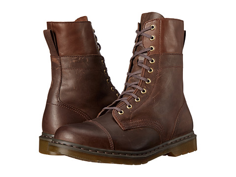 Incaltaminte Barbati Dr Martens Hayes Dark Brown WyomingMirage