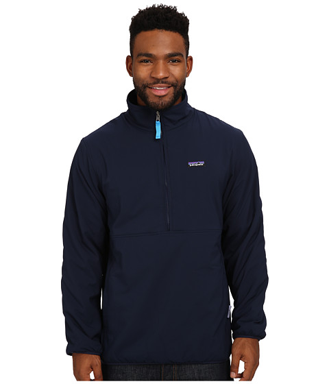 Imbracaminte Barbati Patagonia Reversible Snap-T Glissade Pullover Navy Blue