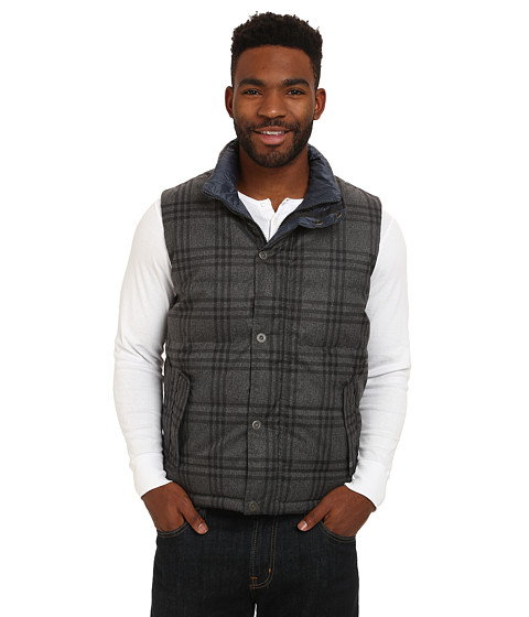 Imbracaminte Barbati Prana Portal Reversible Vest Charcoal