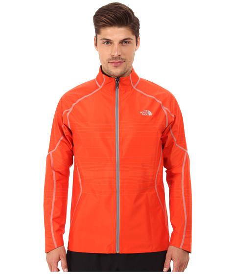 Imbracaminte Barbati The North Face Illuminated Reversible Jacket Acrylic Orange HeatherMonument Grey Heather