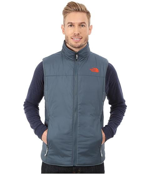 Imbracaminte Barbati The North Face Trinity Reversible Vest Conquer BlueHigh Rise Grey