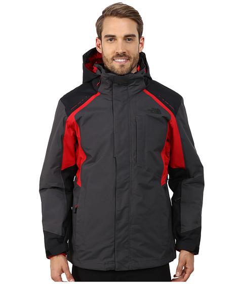 Imbracaminte Barbati The North Face Vortex Triclimatereg Jacket Asphalt GreyTNF BlackTNF Red