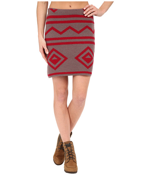 Imbracaminte Femei ToadCo Diamond Sweater Skirt Falcon Brown HeatherMolten