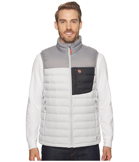 Imbracaminte Barbati Mountain Hardwear Dynothermtrade Down Vest Grey Ice