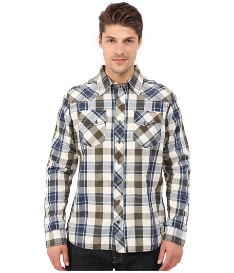 Imbracaminte Barbati Ecoths Milo Long Sleeve Shirt Olive