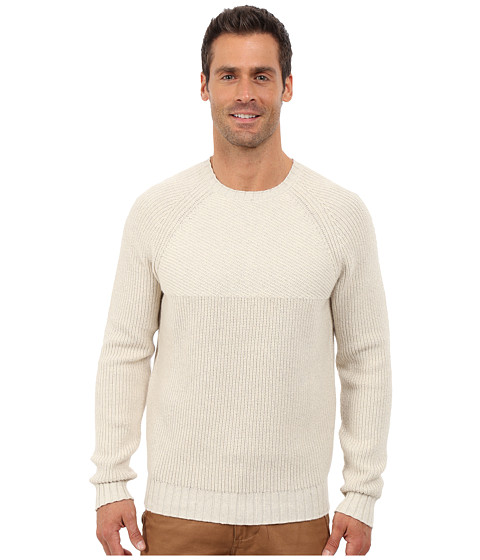 Imbracaminte Barbati Lucky Brand Deer Lake Crew Neck Sweater Light Oat Heather