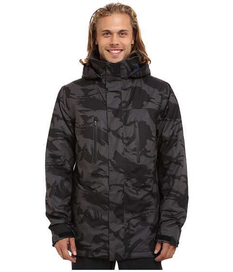 Imbracaminte Barbati Burton Breach Jacket 15 True Black DPM Camo
