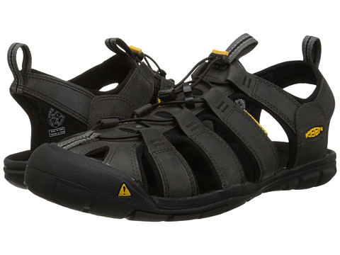 Incaltaminte Barbati Keen Clearwater CNX Leather MagnetBlack